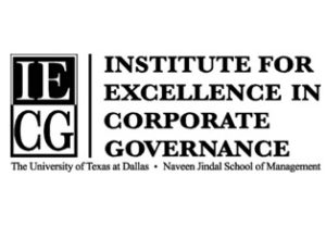 institute for excellence in corporate governance logo