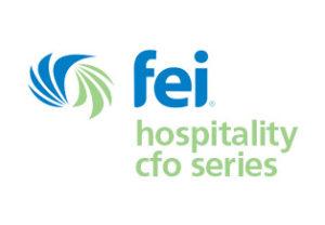 fei hospitality cfo series logo