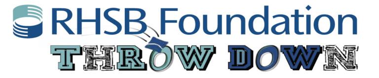 RHSB Foundation Throw Down logo