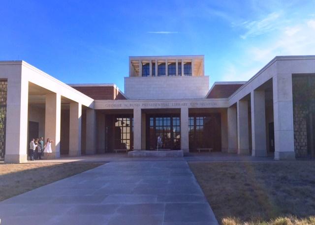 Bush Library 12.10.15.