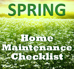 Spring_Home Maintenance Checklist